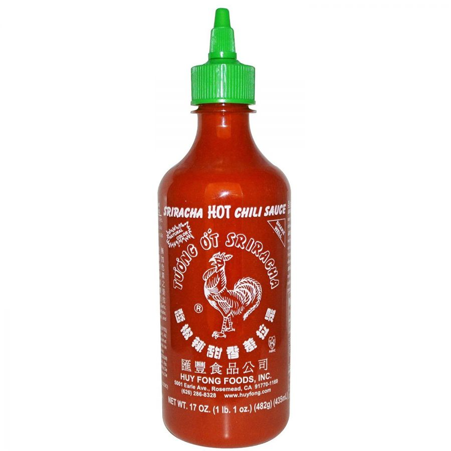 Huy Fong Sriracha Chili Sauce Bottle 17oz
